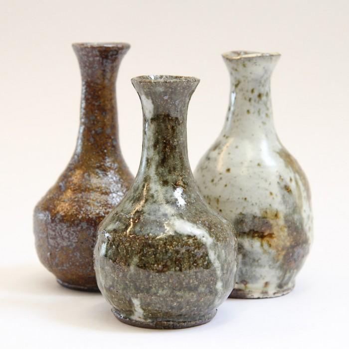 3 Bud Vases