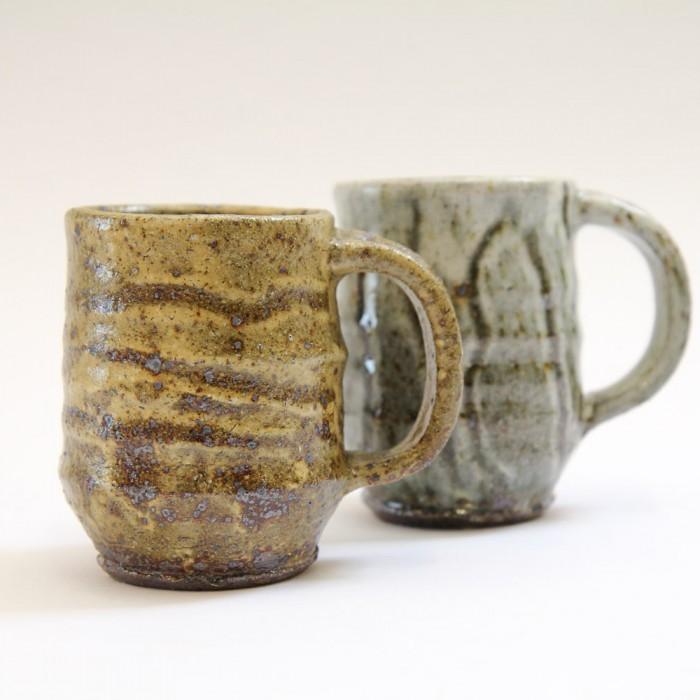 2 Large Mugs