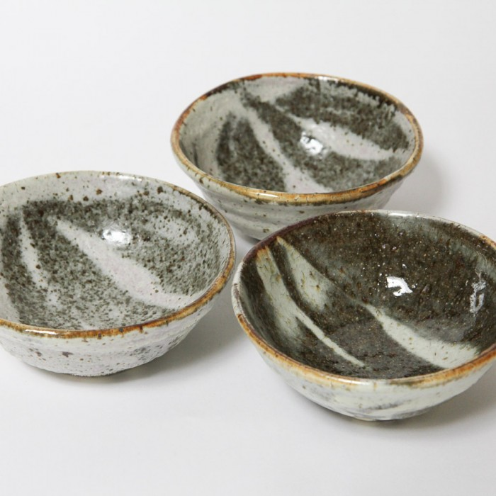 3 Shallow Bowls