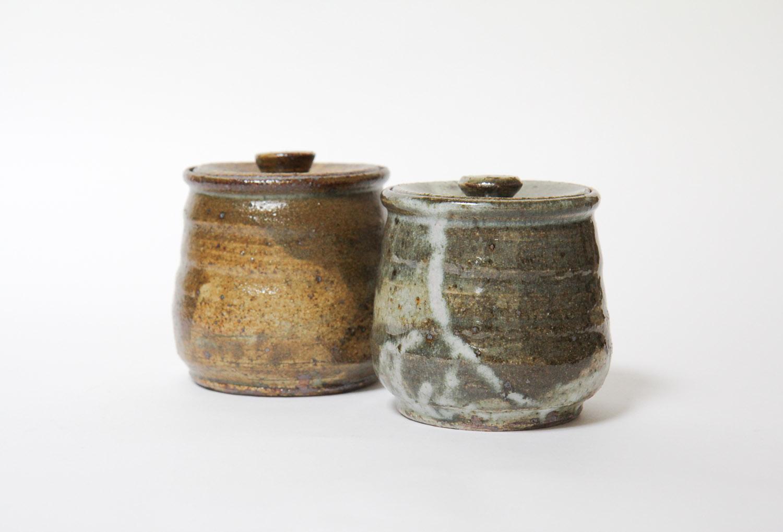 2 Lidded Jars – Large